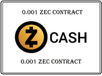 Mining Contract 2 Hours (Zcash) Processing Speed 1 (GH/s) 0.001 ZEC