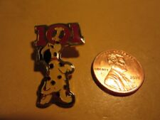 1996 Disney 101 Dalmatians Cast Pin puppy with Red Numbers