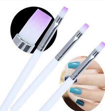 3X Acrylic UV Gel Nail Art Design Pen Polish Painting Brush Manicure Tool 18.5cm