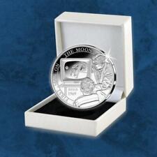 Belgien - 50 Jahre Apollo 11 - 5 Euro 2019 PP Silber - Mondlandung