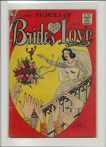 Stories of Brides in Love 6 Good 2.0 Silver Age Romance 1958