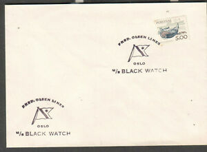 Portugal c 2000 cover Fred Olsen Lines Oslo cruise ship M/S Black Watch
