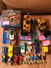 Lego City Vintage Lot Chantier Figurine,60053,7248,7670,6527,4439,5762,6470.