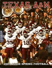 2007 Texas A&M Spring Football Media Guide