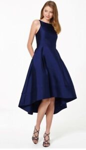 BNWT Forever New Navy High Low Prom Dress Size 10 Wedding Occasion