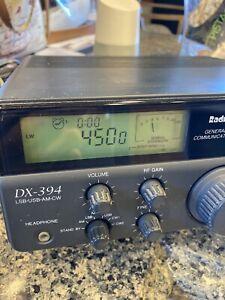 Used Radio Shack DX-394 General Receiver Communications Radio LSB USB AM CW Ham