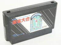 Famicom MAHJONG TAIKAI Cartridge Only Nintendo JAPAN Game fc