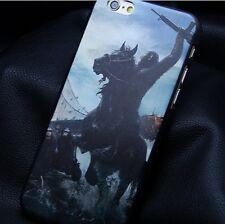 Coque Housse Etui cheval horse cavalier guerre Pour IPhone 6 ( 4,7) CASE i phone