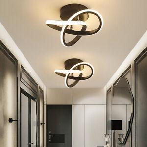 Black Metal Ceiling Light Indoor Lighting Fixture Warm white Ceiling Chandelier