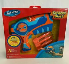 Swim Ways Torpedo Blast Underwater Pool Toy Torpedo Launch Age 5+ NEW