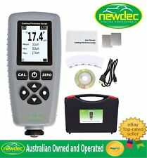 PRO PAINT COATING THICKNESS METER GAUGE PORTABLE Fe / Non Fe FUNCTION DIGITAL