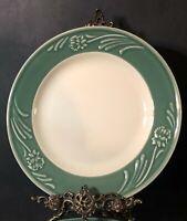 "Lenox Poppies Rainbow Green Dinner Plate 10-3/4"""