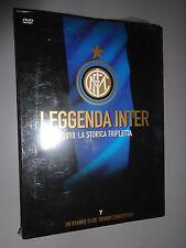 DVD N°7 LEGGENDA INTER 2010 LA STORICA TRIPLETTA UN GRANDE CLUB FINALE CHAMPIONS