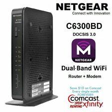 New NETGEAR C6300BD AC1900 DOCSIS3.0 Cable Modem WiFi Router COMCAST-XFINITY COX