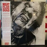 Night Of The Living Dead Soundtrack Vinyl Record LP OBI Strip Variant