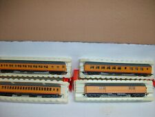 Ho Scale Rivarossi (4) Union Pacific Passenger Cars Set