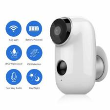 Rechargeable Battery Wireless Security Camera 720P IP65 Waterproof Outdoor Wifi