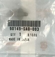 1-PC PACK HONDA OEM Rear Bumper-BumperCover Bolt Right MANY MODELS 90149-SA0-003