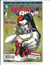 HARLEY QUINN ANNUAL # 1 (DC Comics, SEALED with RUB & SMELL, DEC 2014), NEW NM
