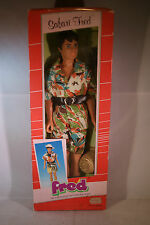 Plasty Petra doll SAFARI FRED male figure MIB 80's