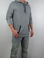 New HOLLISTER By Abercrombie Men Zip Pocket with Zipper Hoodie Sweatshirt