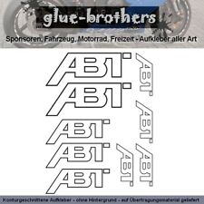 ABT Sportsline Aufkleber Farbauswahl Sticker Set Auto Tuning Car Racing Decal