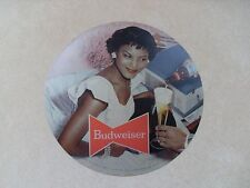 Rare Budweiser Beer Revolving Pocket Watch Clock Photo Transparency