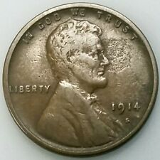 1914 S Lincoln Cent! Add this coin to your collection!