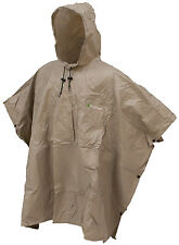 Frogg Toggs FTP1714-04 Ultra Lite Poncho Khaki Waterproof New Light weight