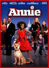 Annie (DVD, 2015, Includes Digital Copy Ultraviolet, Rated PG, WS) FREE Ship/NEW