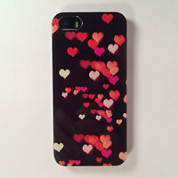 Hearts Red White Pink Black Cute Soft Case Cover For Various Mobile Phone Models