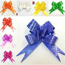 50 Pull Bow FLOWER RIBBONSDecorations Large Wedding Car Xmas Gift Wrap Floristry