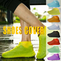 Waterproof Shoes Cover Protection Reusable Rain Boot Soft Cover Silicone ElastJC
