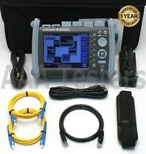 Yokogawa Aq1200A Sm 1310/1550 Fiber Optic Otdr w/ Opts Vls & Lan Aq1200