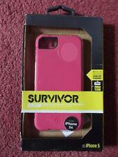 Griffin Survivor Skin for iphone 5 pink gb36671-2