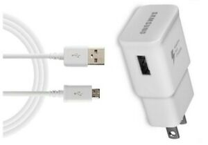 ORIGINAL OEM SAMSUNG FAST CHARGER+MICRO USB CABLE FOR SAMSUNG GALAXY J7/J7 2017