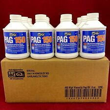 Set of 12: Genuine IDQ Auto Air Conditioning Oil PAG 150 High Viscosity