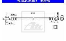 ATE Tubo flexible de frenos VOLKSWAGEN PASSAT AUDI A6 24.5243-0310.3