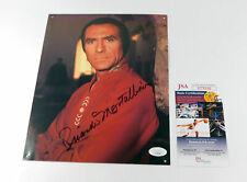 Ricardo Montalban Signed 8 x 10 Color Photo Actor JSA Auto