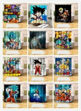 Custom 3D Dragon Ball Printing Shower Curtain Polyester Bath Curtains +hooks