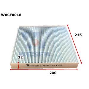 WESFIL CABIN AIR FILTER MAZDA2 2002-2007 MAZDA6 2002-2012 CX-7 WACF0018