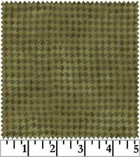 Shadow Play  Woolies  Flannel - Green Houndstooth F1840-G2