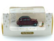 Wiking 7980334 Citroen 2 CV Ente Weihnachts-Modell 1999 1:87 OVP 1411-15-46