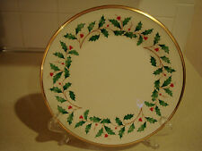 "Lenox Holiday 8"" Salad Plate"