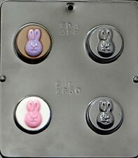 Bunny Rabbit Face Chocolate Oreo Cookie Mold Easter  1650 NEW