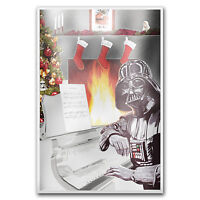 2018 Niue 5 gram Silver $1 Star Wars Season's Greetings Foil Note - SKU#177485