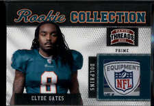 Clyde Gates Shield Laundry Tag /50 RC 2011 Panini Threads Rookie Prime Patch SSP