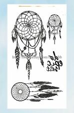 US Seller- native American dream catcher temporary tattoo removable tattoos