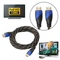 0.5m-5m 1080P 2K HDMI Male to Male Adapter Cable Cord for 3D TV PS3 Xbox HDTV