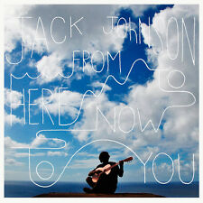 Jack Johnson FROM HERE TO NOW TO YOU +MP3s GATEFOLD New Sealed Vinyl Record LP
